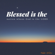 Blessed is the